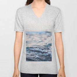 waves Unisex V-Neck