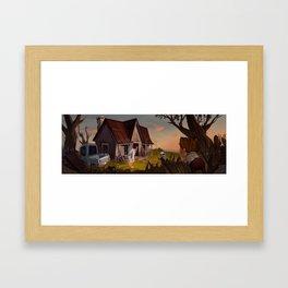 Mr. Mickleson's House Framed Art Print