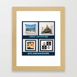 FREE SHIPPING THRU CYBER MONDAY WORLDWIDE! Framed Art Print
