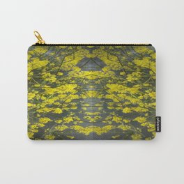 Mustard Rising Carry-All Pouch
