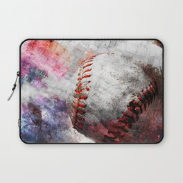 Baseball art print work vs 6 Laptop Sleeve