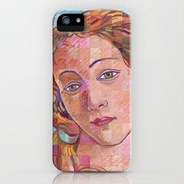 Variations On Botticelli's Venus – No. 1 iPhone Case