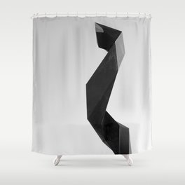 sculture Shower Curtain