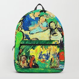 Pablo Picasso - Children in the Luxembourg Gardens - Digital Remastered Edition Backpack