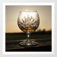 Whiskey Sunset - Photography Art Print