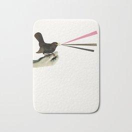 Bird in the Hand Bath Mat
