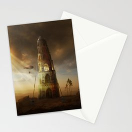 Endless Journey - steampunk artwork Stationery Cards