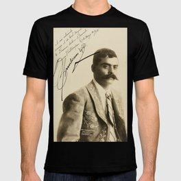 Emiliano Zapata with Signature, c.1915 T-shirt