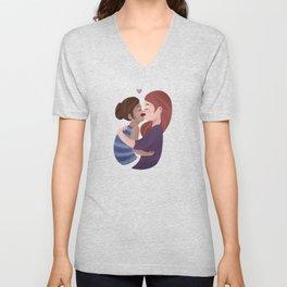 Let's Kiss Unisex V-Neck