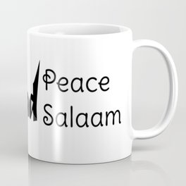 Spread Peace Spread Salaam Coffee Mug