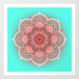 Mandala Lorana Art Print