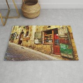 Tuscany, Italy Street Scene Rug