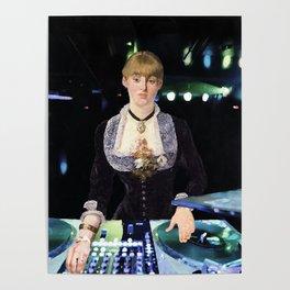 A DJ at the Folies-Bergère Poster