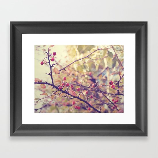 Berry Christmas Framed Art Print