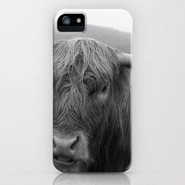 Highland cow I iPhone Case