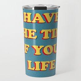 Harry Styles Sign Of The Times lyrics artwork Travel Mug
