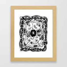 Neural Crest Derivatives Framed Art Print