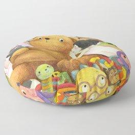 Secret   Children's illustration Floor Pillow