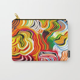 colored flow Carry-All Pouch