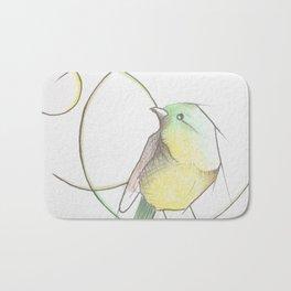 Vida de pájaro Bath Mat