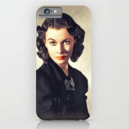 Vivien Leigh, Vintage Actress iPhone Case