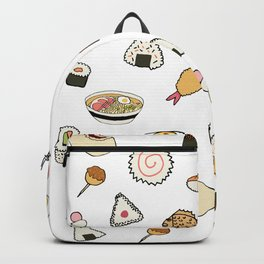 Popular Japanese Food Backpack