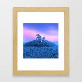 January Framed Art Print