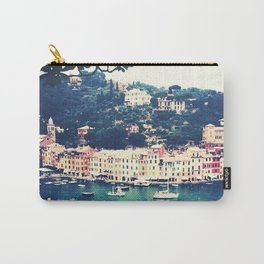 A vintage day in Portofino Carry-All Pouch