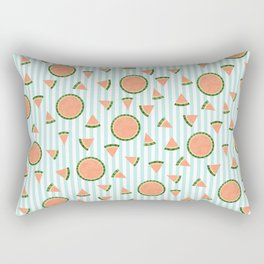 Wild Watermelon Rectangular Pillow