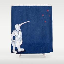 Spacekiwi Shower Curtain