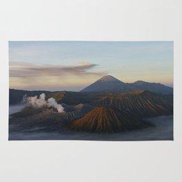 Sunrise Mount Bromo Tengger Semeru National Park  Indonesia Rug