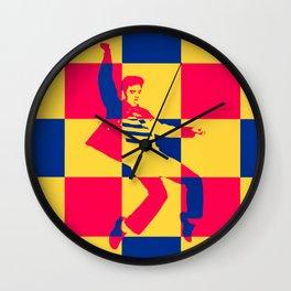 Jailhouse Rock Wall Clock