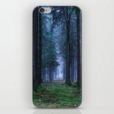 Green Magic Forest iPhone & iPod Skin