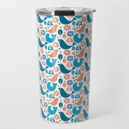 Birds & Flowers Travel Mug