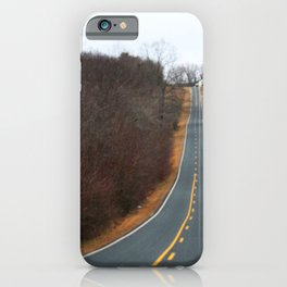 Country Road In Winter iPhone Case