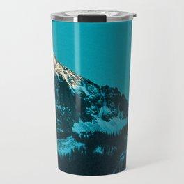rocky mountain colorado last light Travel Mug