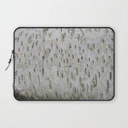 Birch Bark on a Fallen Tree Laptop Sleeve