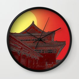 Imperial Sunrise Wall Clock