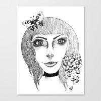 fairies Canvas Prints featuring Fairies by Bambi-boo