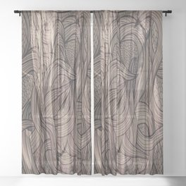 Epona -Celtic Sheer Curtain