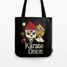 the karate onion Tote Bag