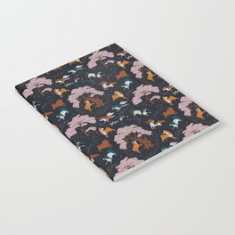 Cherry Blossom and Dog Dance Notebook