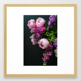 Peonies No.1 Framed Art Print