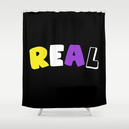 Real (Nonbinary) Shower Curtain