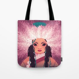 Girls of the Snow II Tote Bag