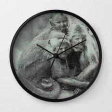 Monkey Children Wall Clock