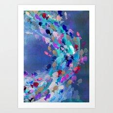Lucid Lagoon  Art Print