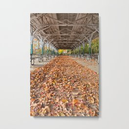 North Point Trolley Pavilion Metal Print