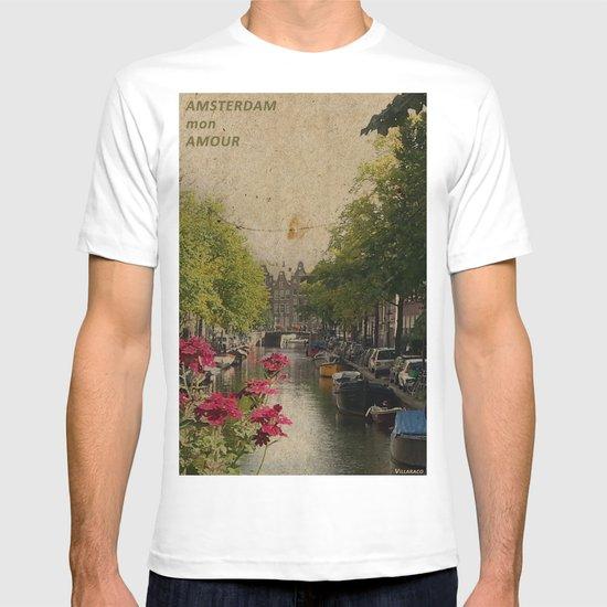 Amsterdam mon amour T-shirt
