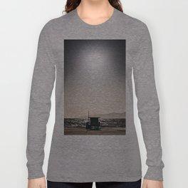Venice Beach California Guard Tower Long Sleeve T-shirt